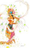Amorous Dancing Embu Illustrations Collection (12/93)